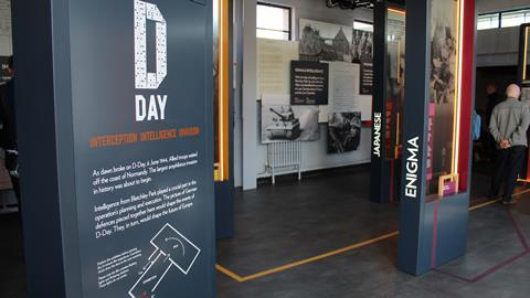D Exhibition : New d day exhibitions unique insight into bletchley parks code